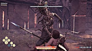 Kassandra Vs Medusa Assassin S Creed Odessey Gameplay