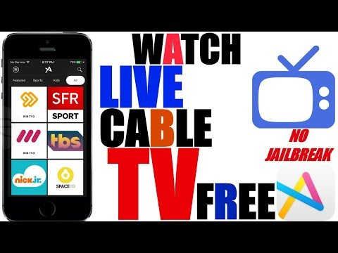 iOS 9-10.3.2/iOS 11: Watch (LIVE) Cable TV For FREE. ABC, TBS, FOX, NBC & More - No Jailbreak (: