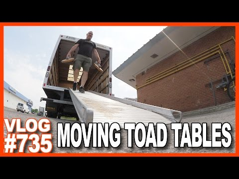 MOVING TOAD TABLES