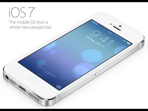 Apple iOS 7 Features Preview (New Multitasking, Radio, AirDrop)