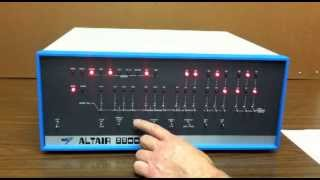Altair 8800  - Video #3 - Kill the Bit Game
