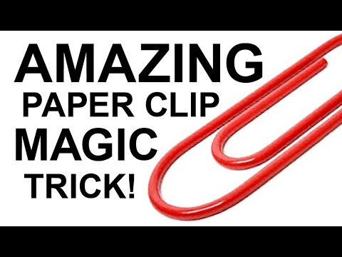 LEARN AMAZING MAGIC SECRET WITH PAPERCLIPS!