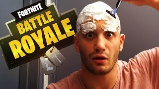 High Stakes Fortnite: Loser SHAVES HEAD & EYEBROWS