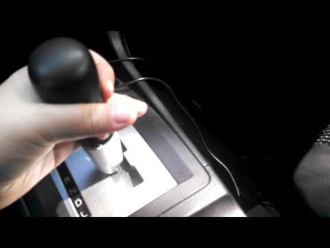 HowTo Remove 2008 Mitsubishi Lancer CVT Shift Knob