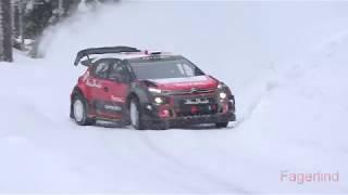 Mads Östberg test for Rally Sweden 2018