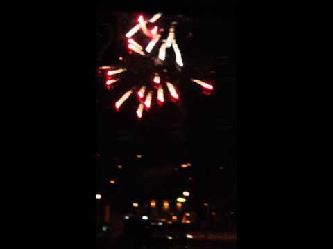 TRANSMISSION - SEVEN SINS 25.10.2014 O2 ARENA PRAGUE - Polish Party Bus Firework