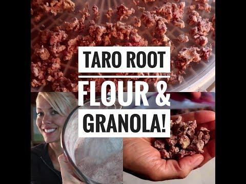 How to make Taro Flour and AIP Granola