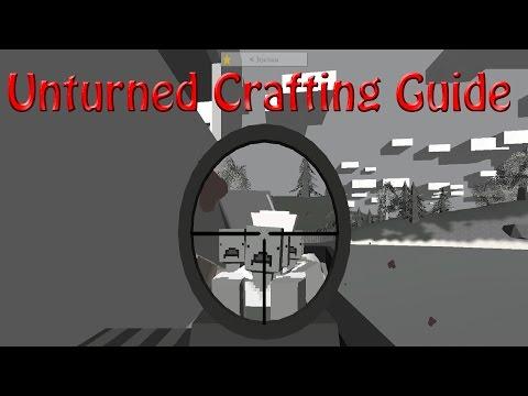Unturned Crafting Guide: Wooden Wall,Wooden Rampart, Doorway,Window,Wooden Garage,Wooden Cross