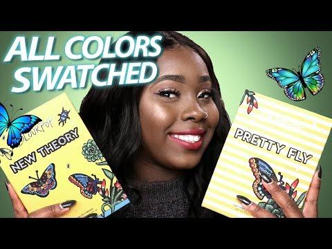 Colourpop Butterfly Collection | ColourPop Spring 2018 (Eyeshadow & Lippie Stix Swatched)