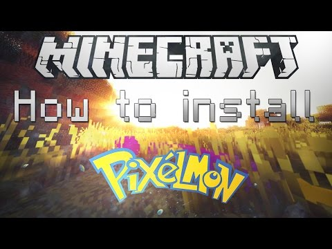 Minecraft 1.11.2 How To Install Pixelmon
