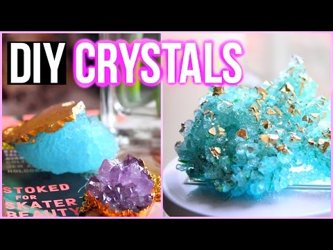 DIY Crystals at Home! Tumblr Inspired Room Decor
