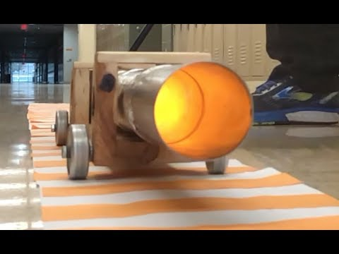 Tennis Ball Cannon Update // Homemade Science with Bruce Yeany