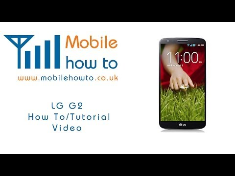 How To Set Voicemail/Answerphone number -  LG G2
