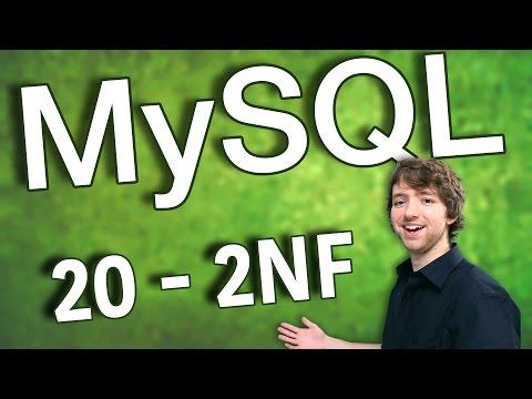 MySQL 20 - 2NF