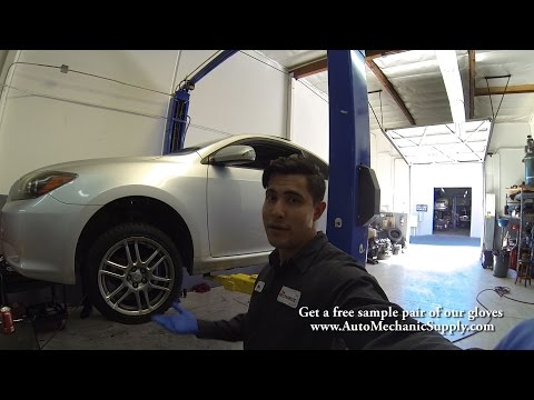 How to replace front wheel bearing 2008 scion TC