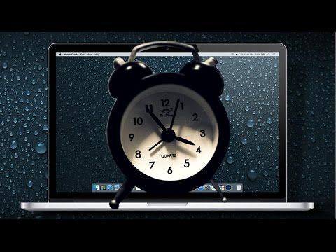 Use your Mac as an Alarm Clock with iTunes Songs and Auto Turn On