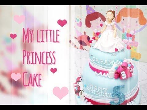 ::sugarcraft::my little princess cake우리공주님~^^케이크만들기