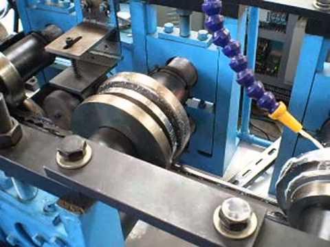 Slide rail / solar panel rack roll forming machine