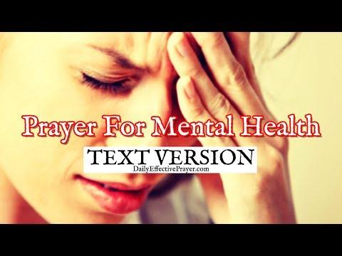 Prayer For Mental Health / Healing (Text Version - No Sound)