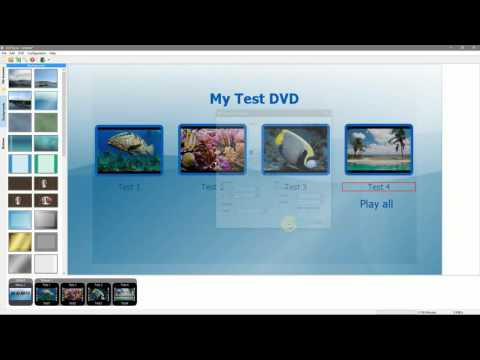 How to Create Menus, Author a DVD, and Burn to Disc with DVDStyler