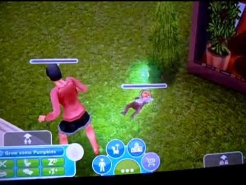 Sims Freeplay- The Amazing Sliding Baby!!!