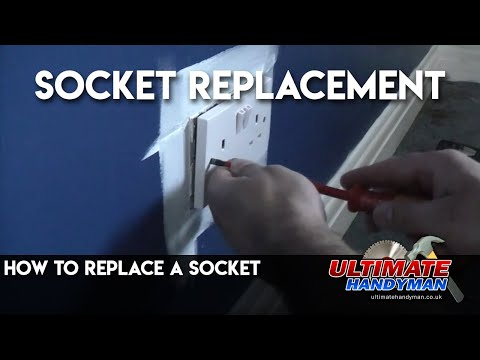 how to replace a socket