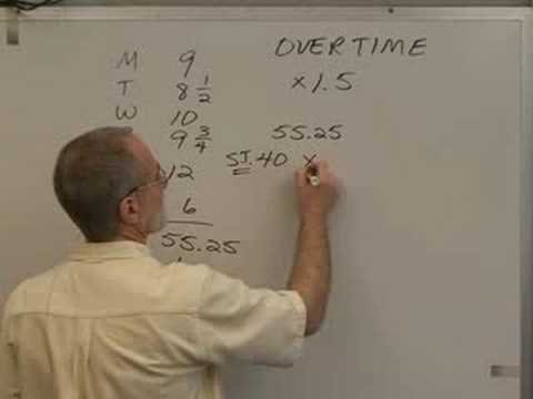 09-C, Overtime Pay