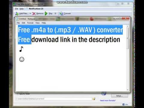 Free m4a to mp3 Converter Download link