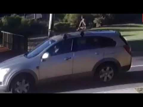 Xxx Mp4 A Mother Driving Dont Know Her Child On Roof Rack In Perth 3gp Sex