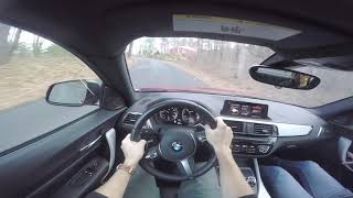 Point-of View drive 2018 BMW M240i X Drive