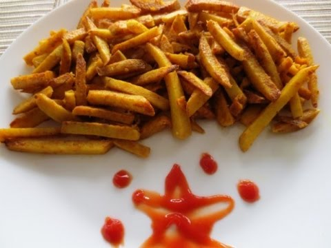 Arbi Masala / Taro Root, French Fries style| Poonam's Kitchen