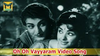 Oh Oh Vayyaram Video Song  || Mangamma Sapatham Movie ||  NTR, Jamuna