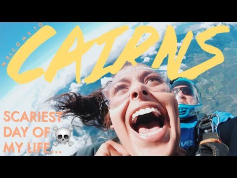 Skydiving in Cairns | Travel Vlog |  Studying in Australia Vlog #10