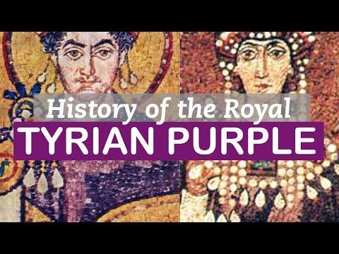 Tyrian Purple | History of Colors | LittleArtTalks