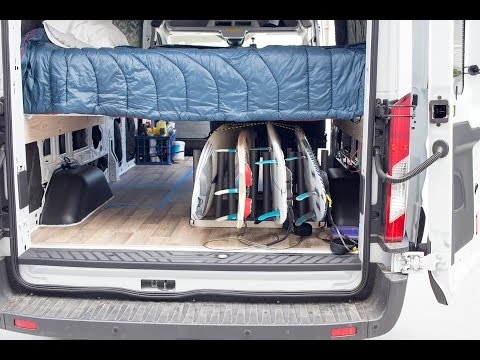 Build A Surfboard Rack For Your Van