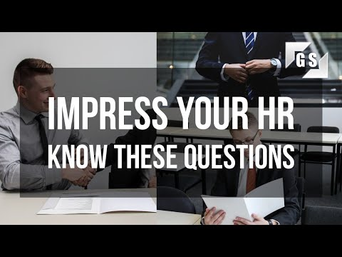 Most frequently asked HR (Human Resources) interview questions: Impress your interviewer.