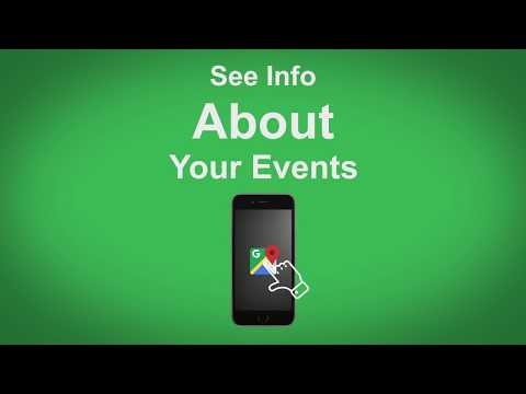 Google Maps   See Info About Your Events