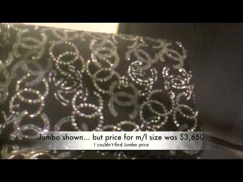 CHANEL BAGS & PRICES  (Spycam)