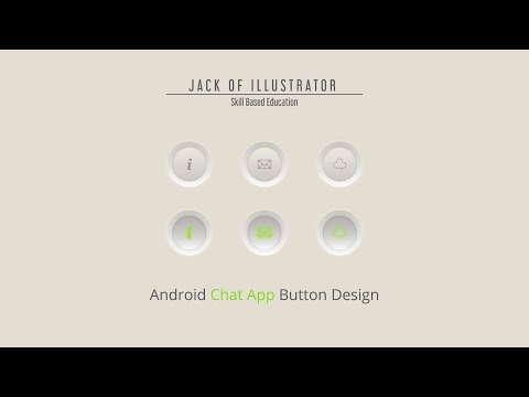 Adobe Illustrator cc | Button Design | Graphical User Interface | Training