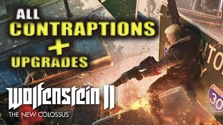 Wolfenstein 2: The New Colossus | All 3 Contraption Locations & How to get Contraption Upgrades