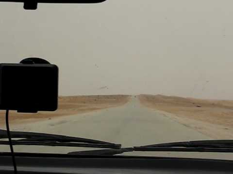 Mauritania Driving