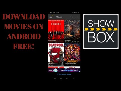 How to download movies on android phone using Showbox