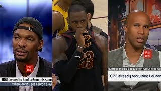 NBA Players React To LeBron James Leaving Cavs &Which Team He Will Join Next Season!