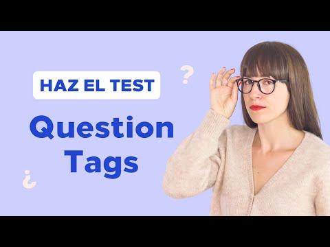 Puedes aprobar este examen de inglés, ¿verdad? ✏️ QUESTION TAGS