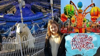 Download Winter #Wonderland.Best Place to Visit in London. Fun Day Out.UK 2018 Video