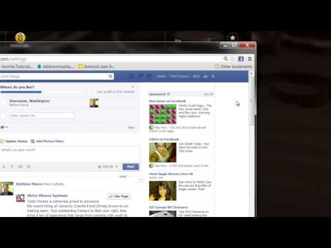 How Do I Take My Facebook off of My Yahoo! Email? : Advanced Facebook Tips
