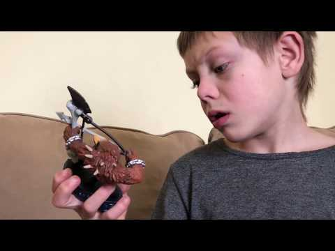 Review of Skylanders Wolfgang by 7 yr old with autism