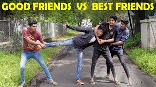 Good Friends Vs Best Friends Leelaigal | Laughing Soda