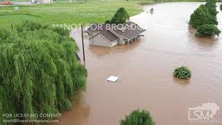 Download 06-23-19 Anderson MO flooding B-roll with drone Video