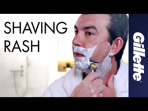 Helping prevent shaving rash | Science behind Gillette blades | All about Lubrication